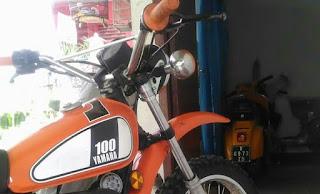 LAPAK TRAIL KLASIK : Jual Trail Klasik Yamaha DT100X Tahun 77
