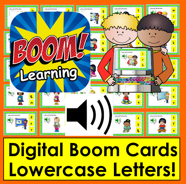 https://www.teacherspayteachers.com/Product/Lowercase-Letters-Interactive-Self-Chkg-Boom-Cards-Task-Cards-with-sound-3246808