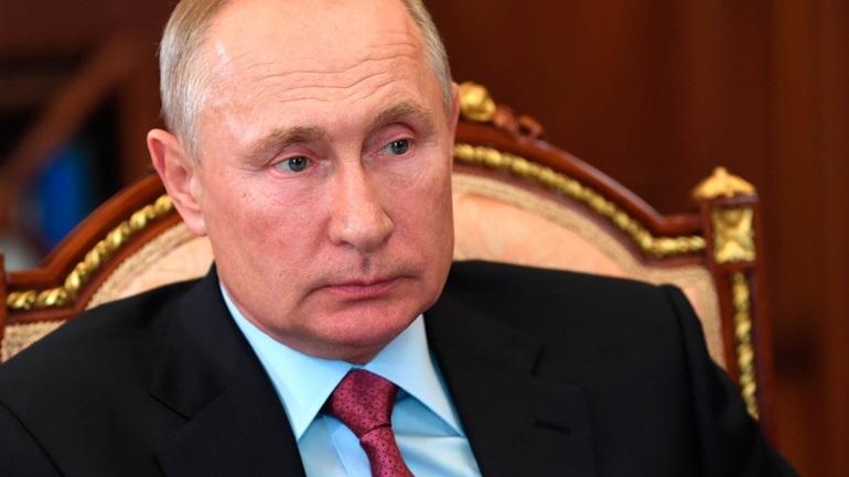 Πούτιν: Η σύλληψη Ρώσων στην Λευκορωσία είναι ενέργεια των μυστικών υπηρεσιών της Ουκρανίας και των ΗΠΑ