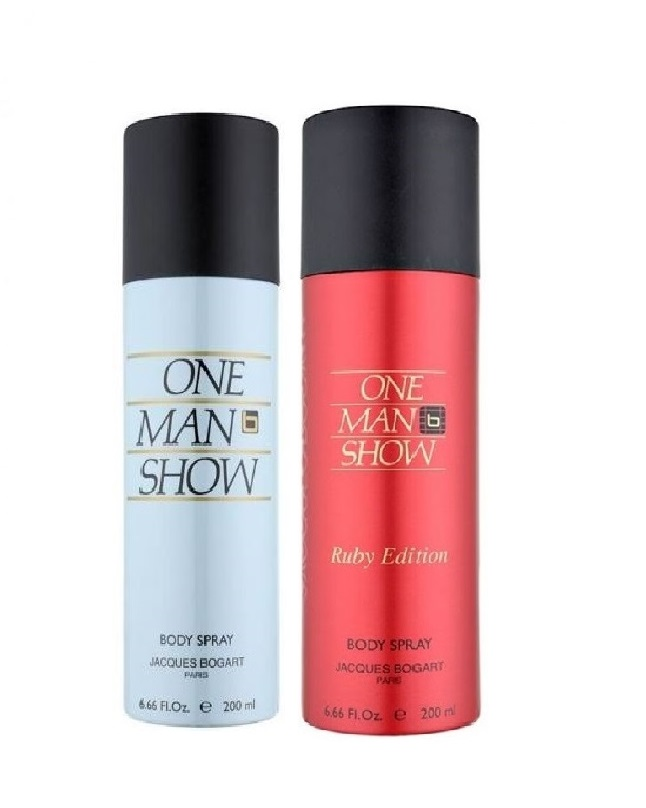 Pack Of 2 - One Man Show And Ruby Edition Body Spray 200 ml