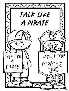 MrsPricesKindergators: Talk Like A Pirate Day!