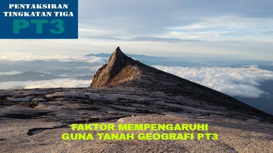 Faktor Yang Mempengaruhi Guna Tanah Geografi Pt3 Pendidikan Malaysia