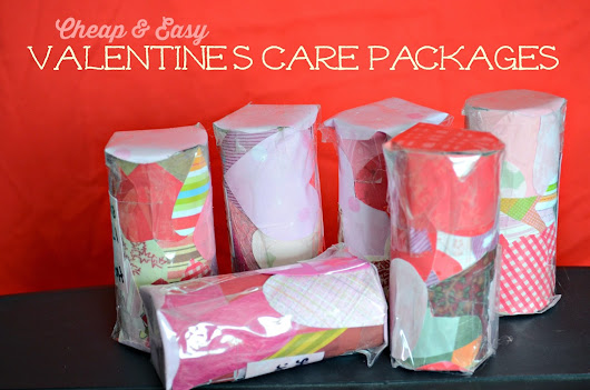 Kids Craft: Cheap & Easy Valentine's Day Care Packages