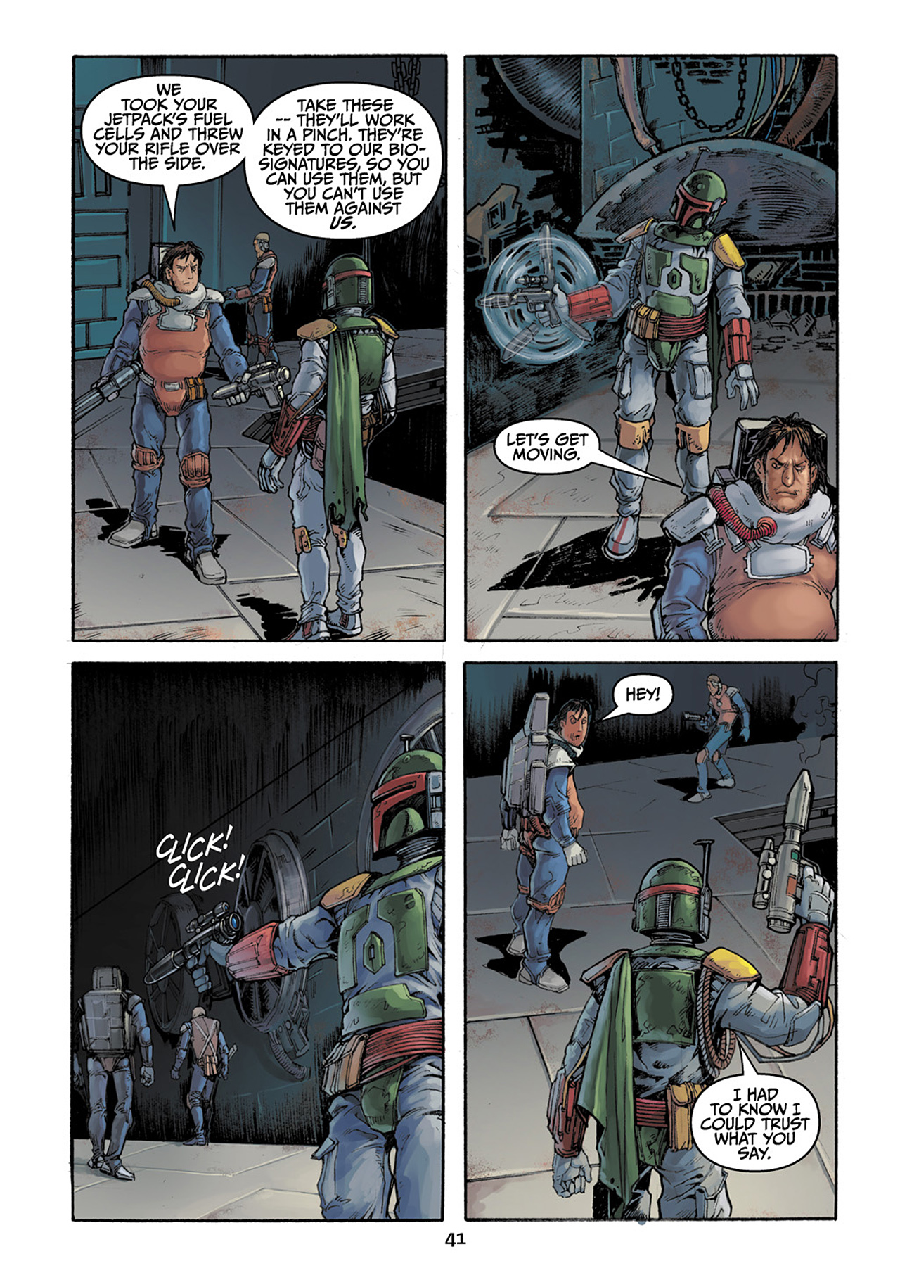 Read online Star Wars Adventures comic -  Issue # Issue Boba Fett and the Ship of Fear - 42