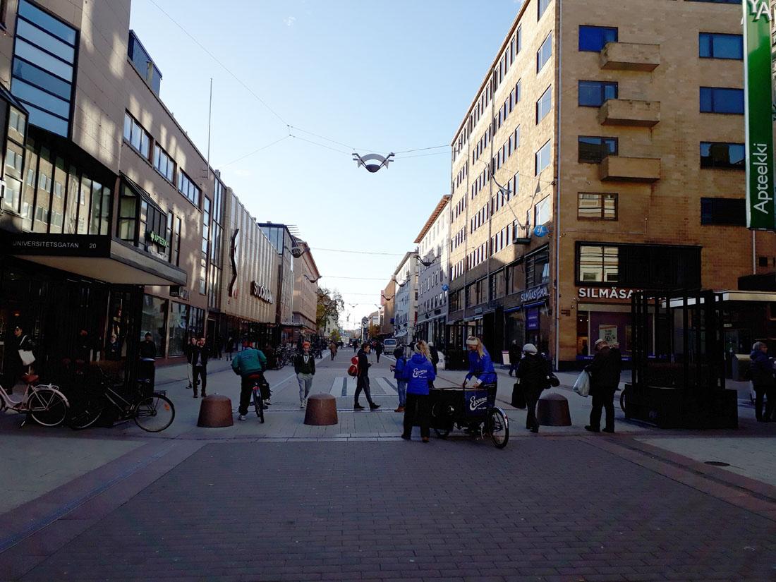 Strade a Turku