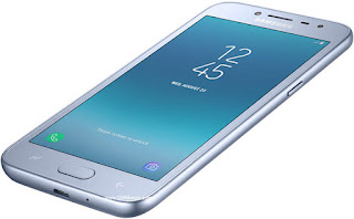 Samsung Galaxy J2 Pro (2018) dengan bentuk tombol kapasitif yang baru