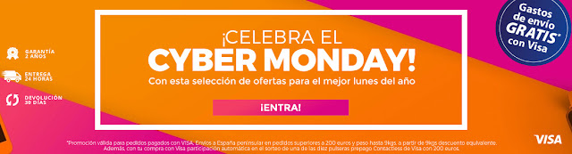 Cyber Monday 2017 PCComponentes