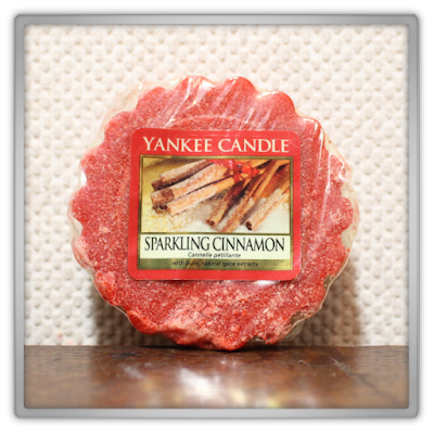 Yankee Candle haul review christmas festive sparkling cinnamon tart