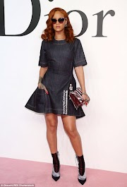 Rihanna steps out in head-to-toe Dior at show in Tokyo (photos)