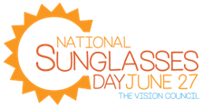 National Sunglasses Day banner