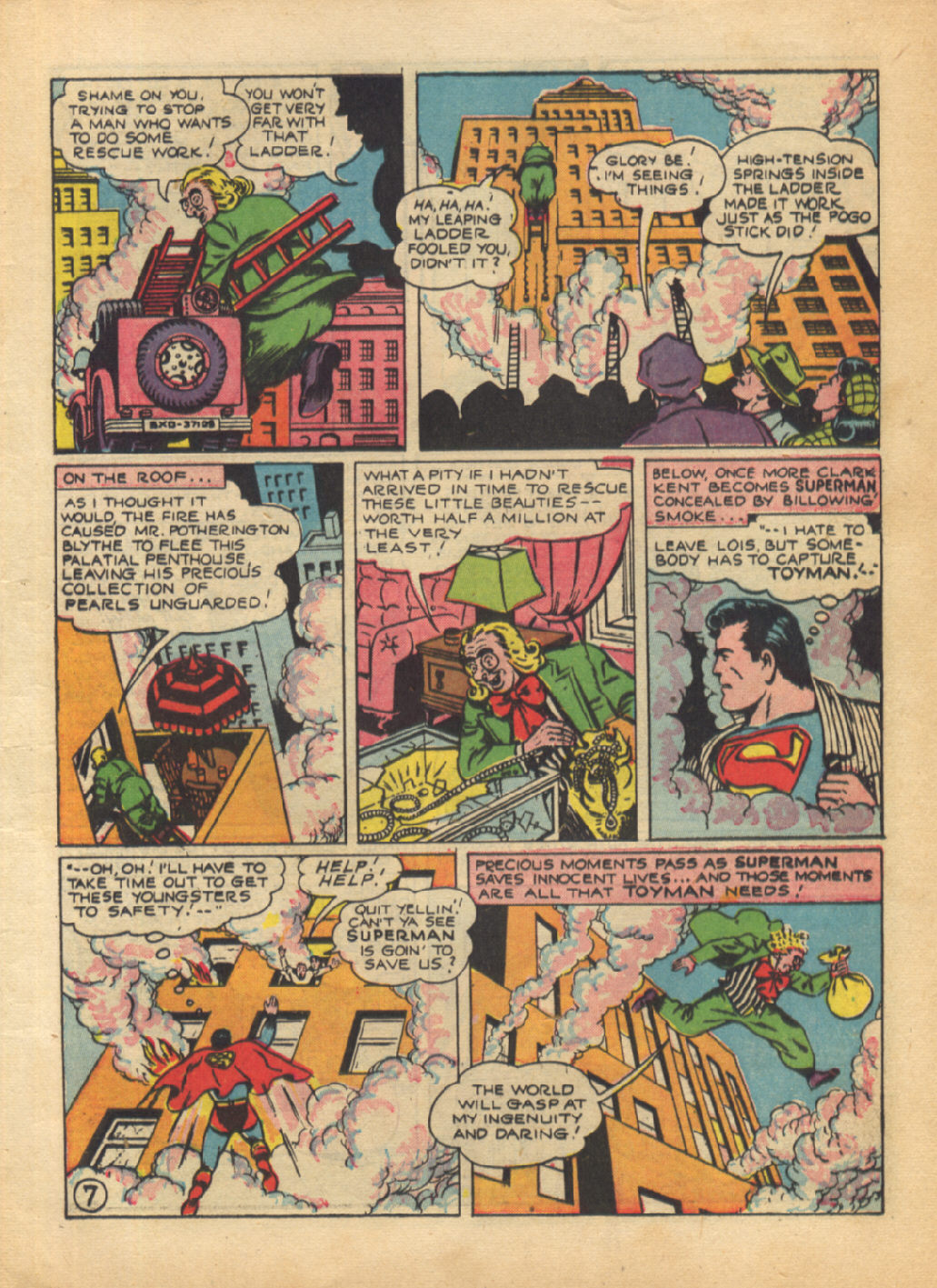 Read online Action Comics (1938) comic -  Issue #64 - 9