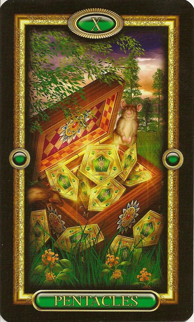 Eno's Tarots: Gilded Tarot Royale