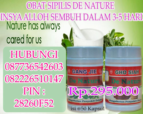 Ramuan Sipilis De Nature Indonesia Yang Alami