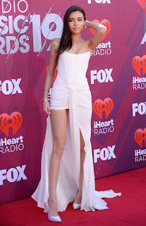 Madison Beer Hot Cleavage And Leggy Pics
