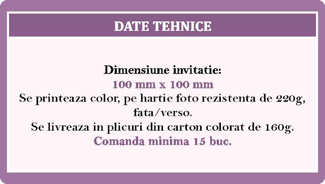 Invitatii Nunta Patrate