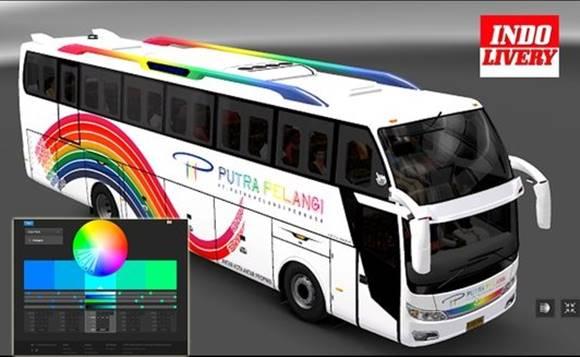 Macam - Macam Livery Bus Simulator Indonesia Update 2.8.1