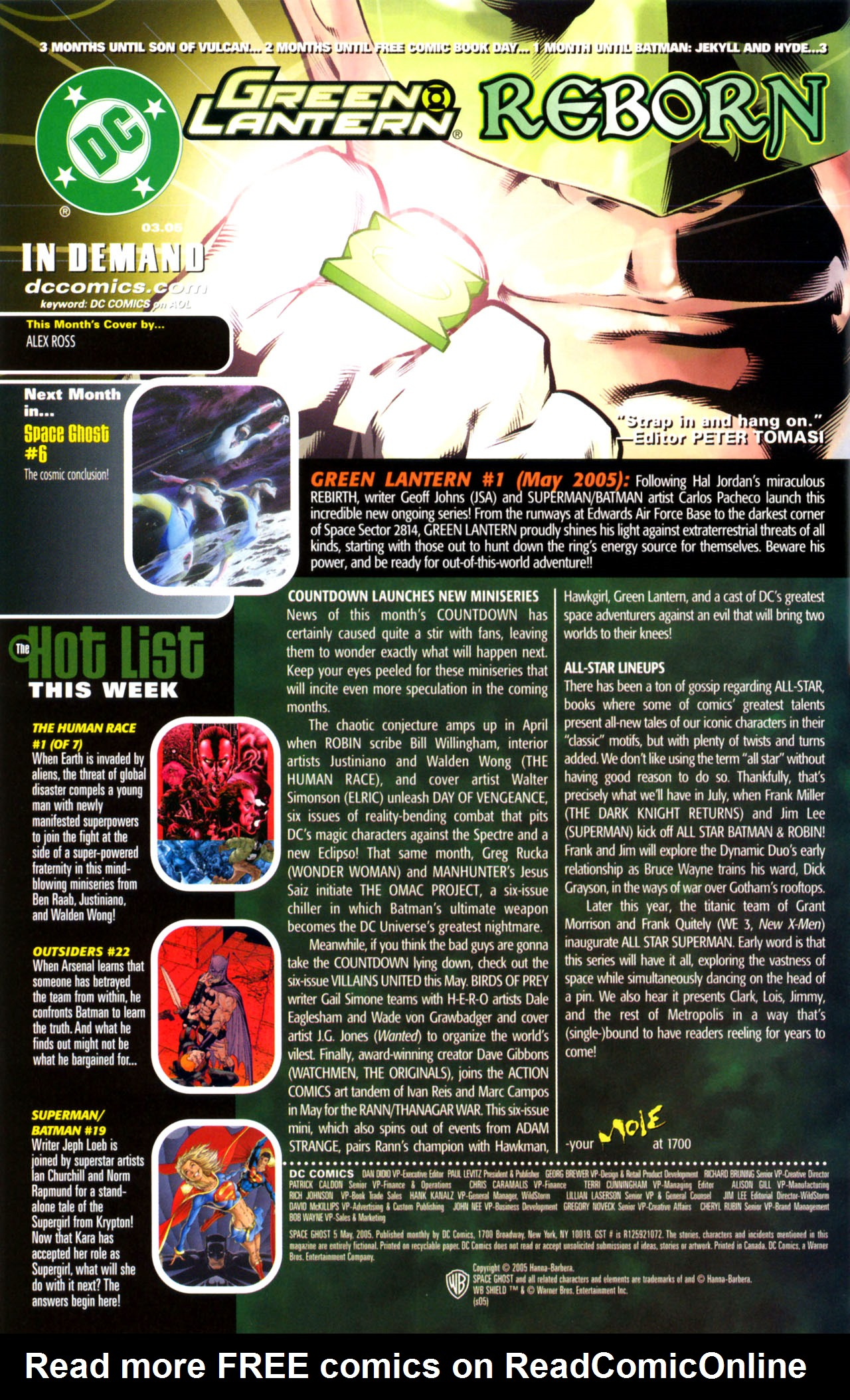 Read online Space Ghost (2005) comic -  Issue #5 - 22