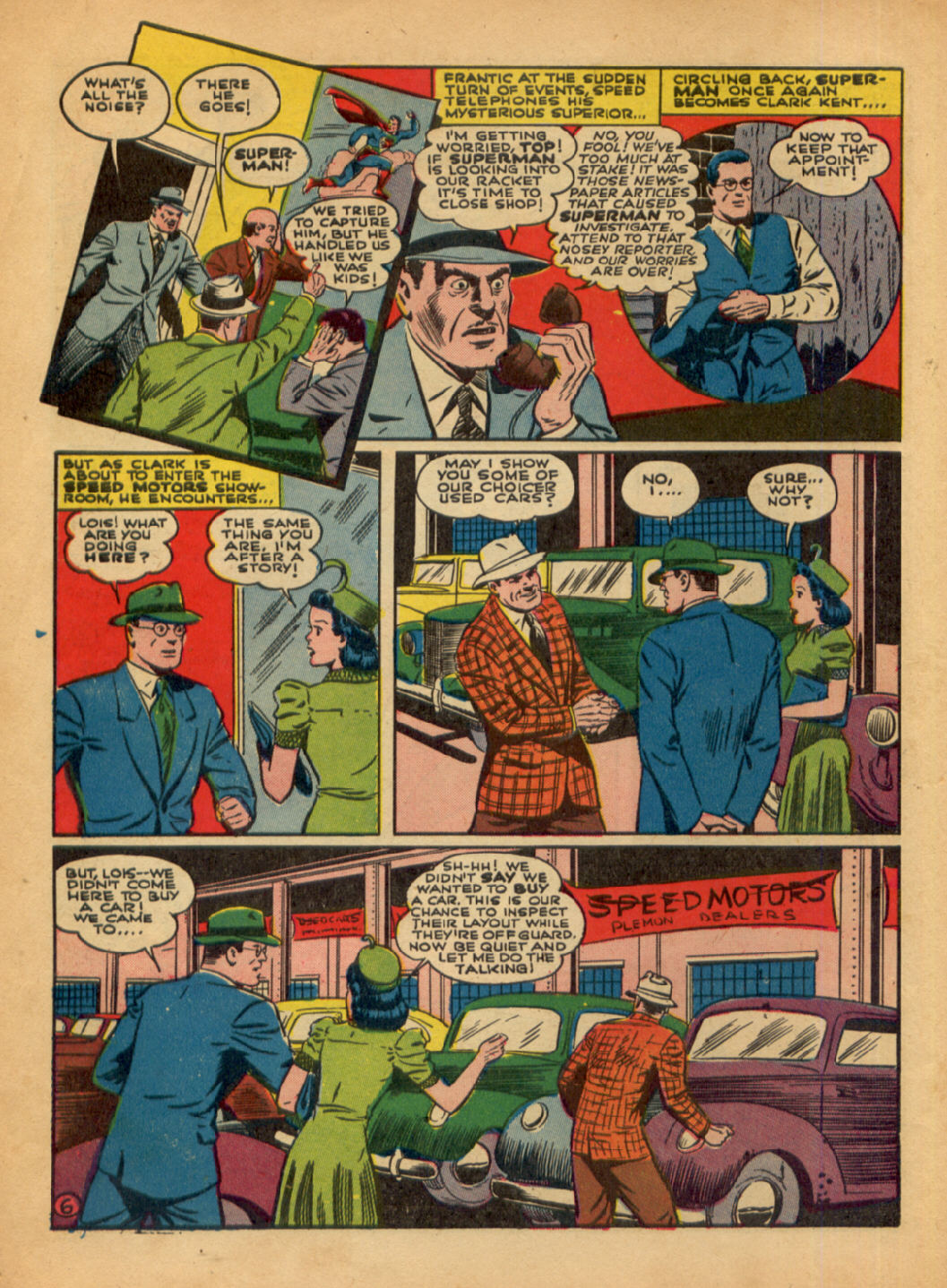 Read online Action Comics (1938) comic -  Issue #48 - 8