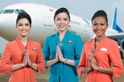 Menyimak Gaji Pramugari Garuda Indonesia