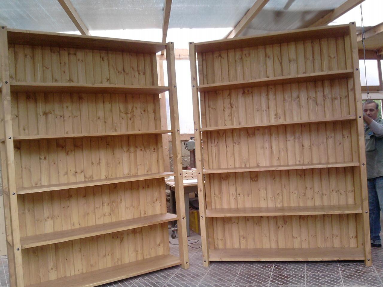 Fai da te hobby legno scaffale for Scaffale da scrivania