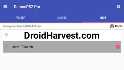 How to install PS2 games BIOS on DamonPS2 Pro