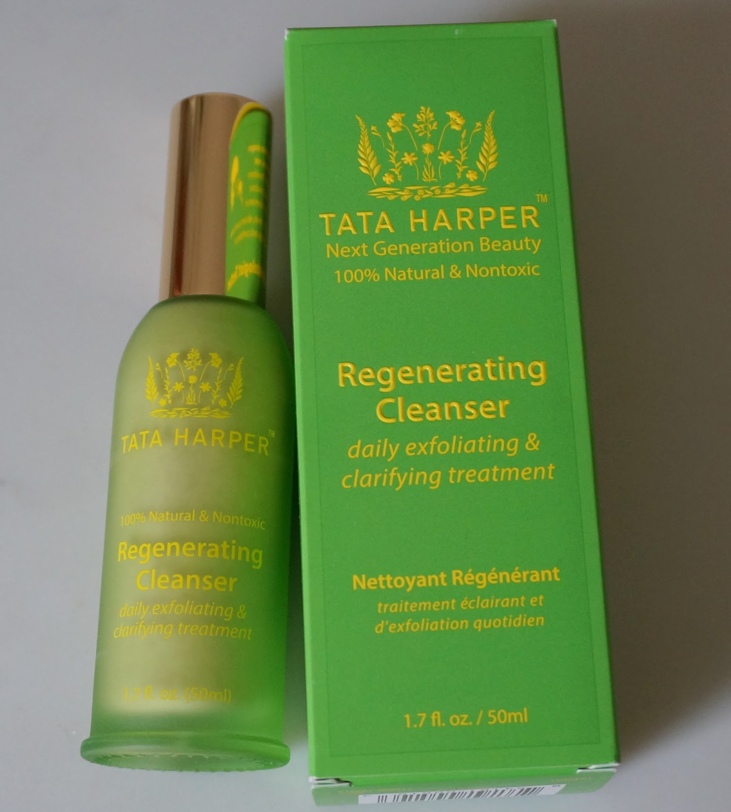 Tata Harper Regenerating Cleanser daily exfoliating and clarifying