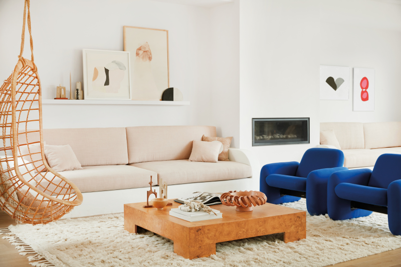 ilaria fatone_ garance doré home - living room in warm tones