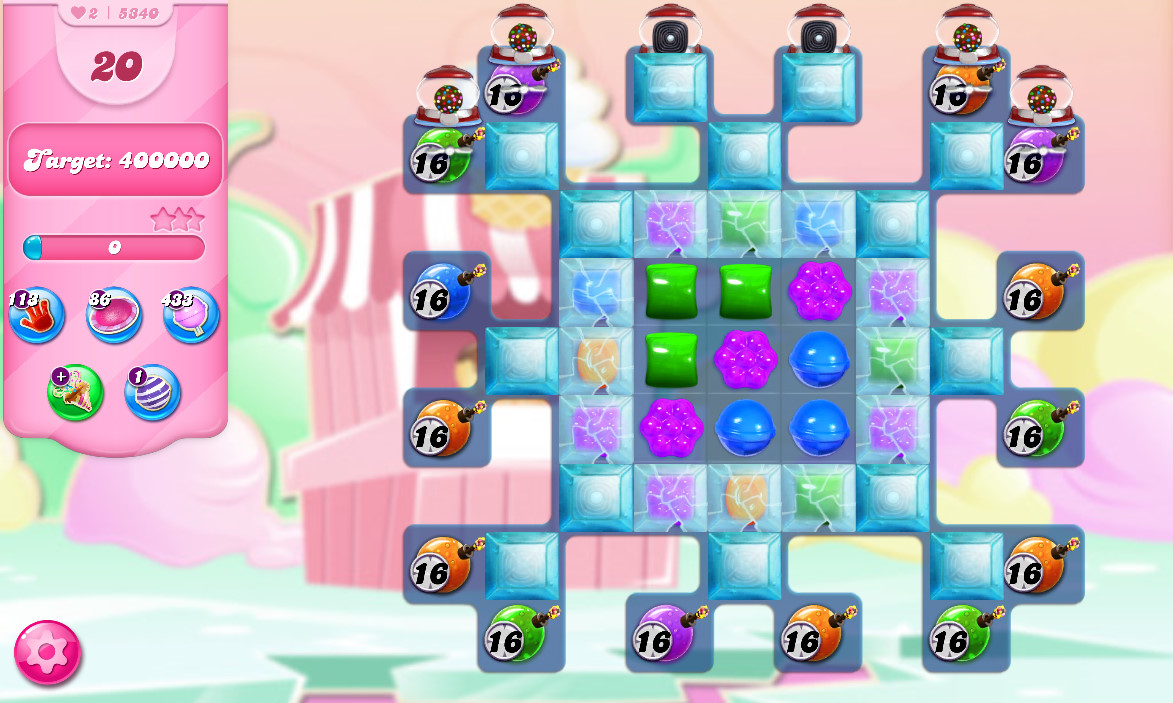 Candy Crush Saga level 5340