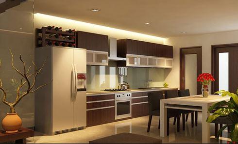 5 lý do để bạn lựa chọn tủ bếp gỗ Laminate