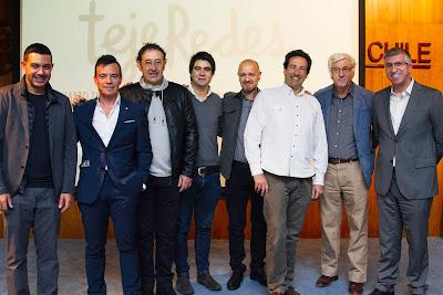Expositores del Seminario Internacional sobre Colaboración y Trabajo en Red