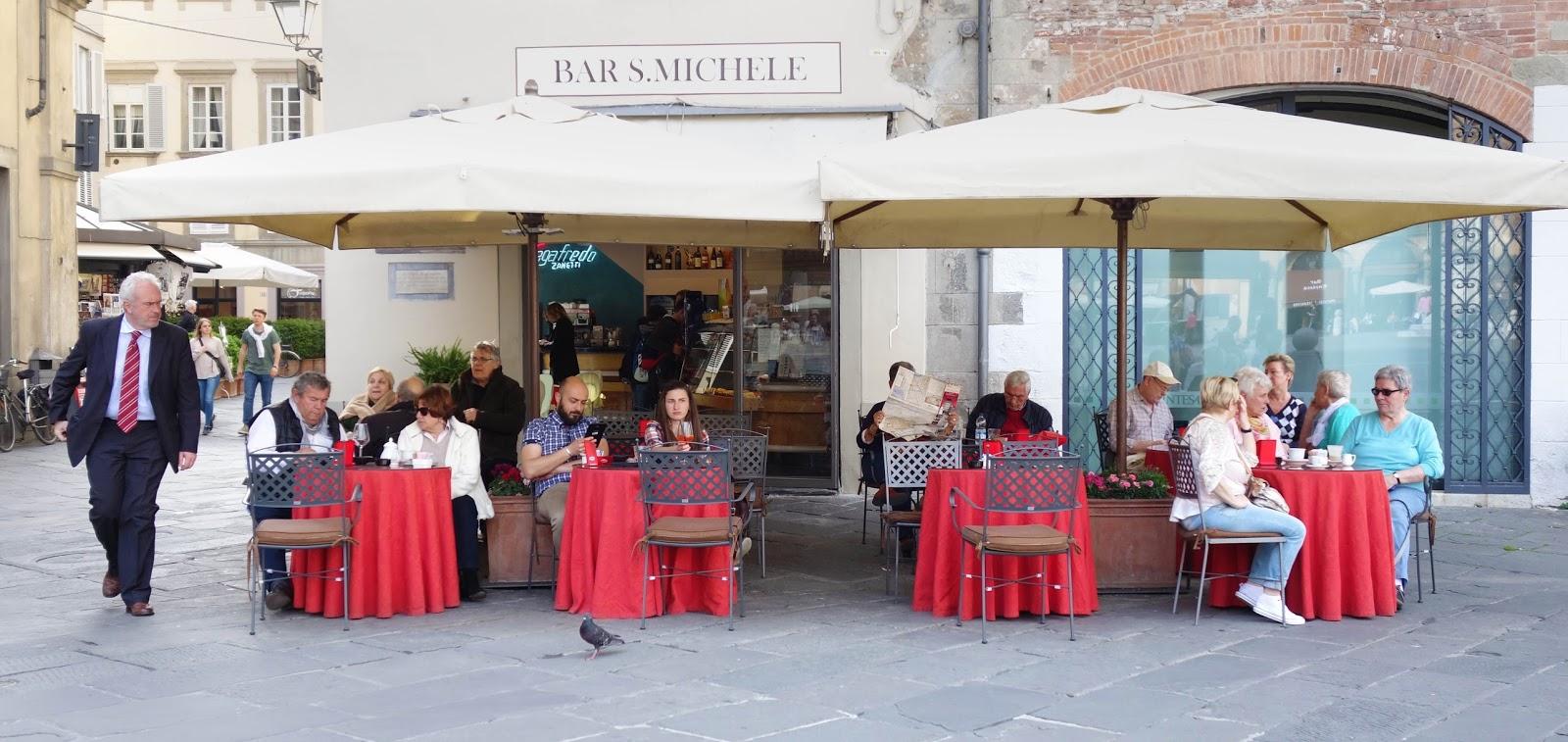 Tuscany Street Cafe Mural