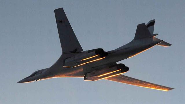 Só um dos Tu-160 que protagonizou o incidente podem levar entre 12 e 24 mísseis com ogivas atômicas.