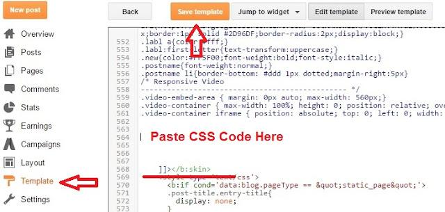 Add CSS For Blogger Popular Post Widgets