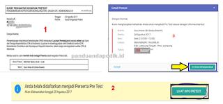 Cara Mudah Download Surat Pengantar Pretest PKB