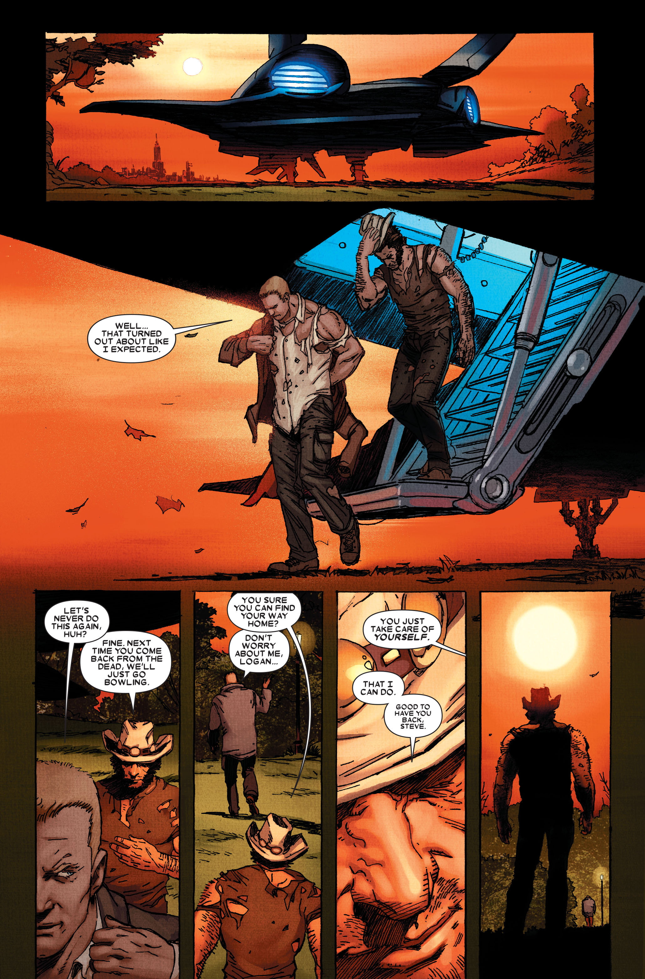 Read online Wolverine: Weapon X comic -  Issue #11 - 21