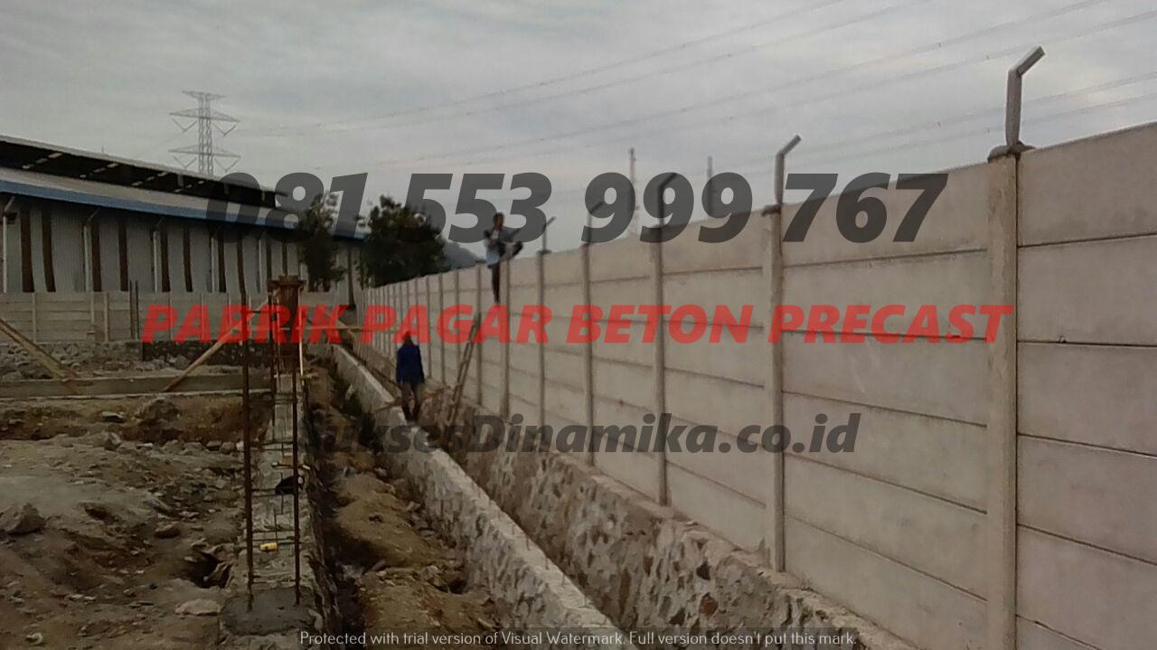Harga Pagar Panel Beton Di Jawa Timur Sidoarjo, Kolom Pagar Precast