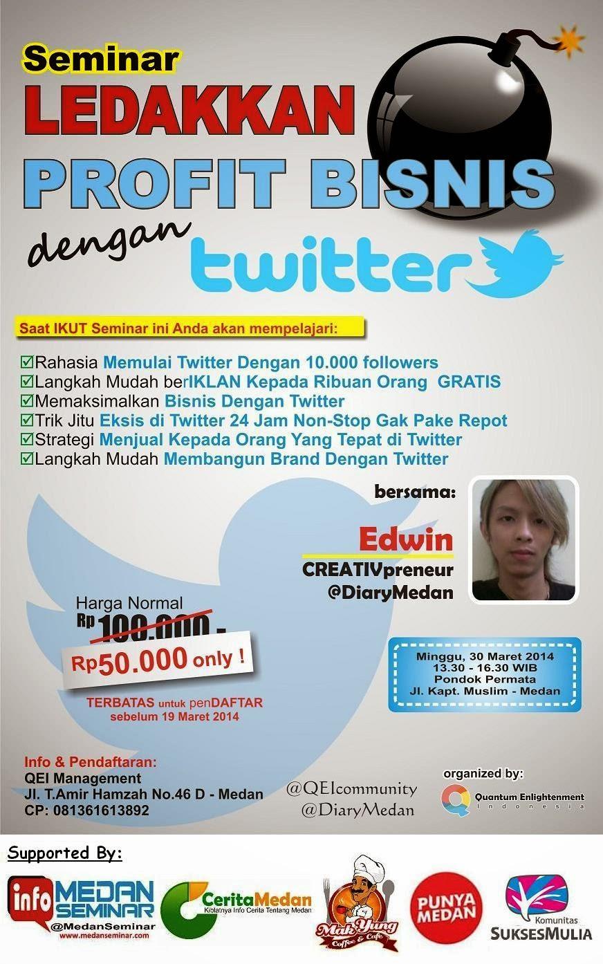 Seminar Twitter di Medan