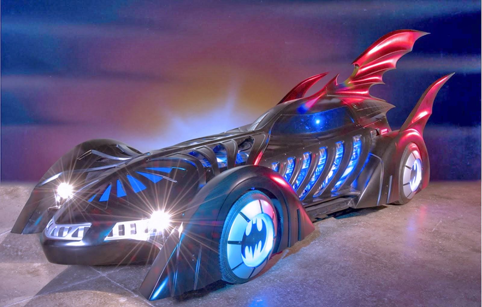 """Chicks Love the car"" Batmobile from batman Forever starring Val Kilmer"