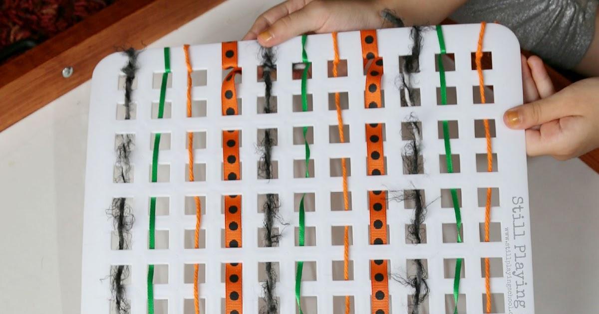 Weaving Board For Kids Still Playing School