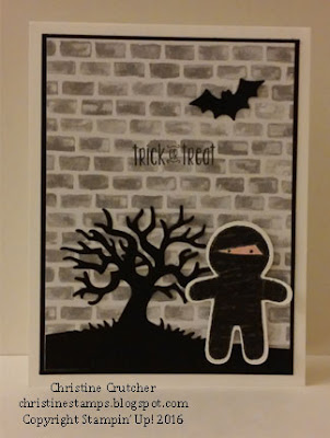 Cookie Cutter Halloween Stampin Up
