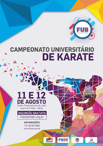 Festival Universitário Baiano - Karate