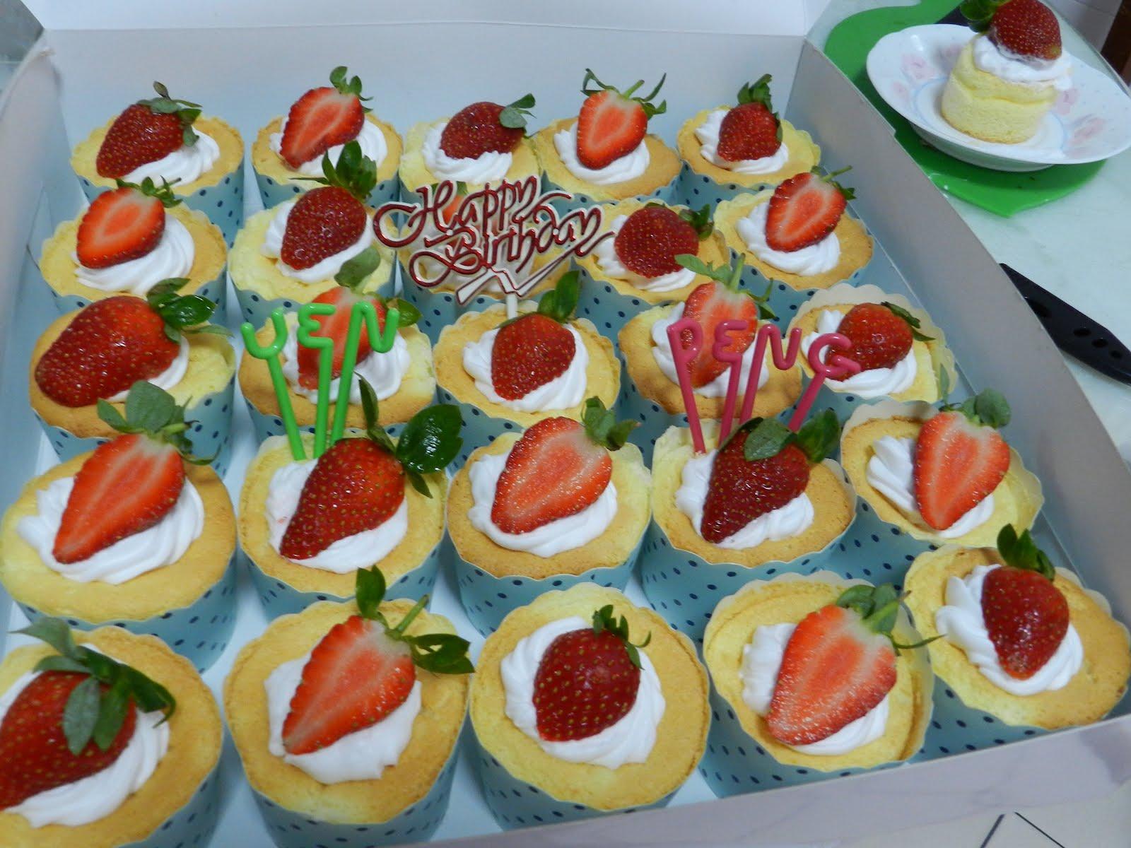 Birthday Cake With Japanese Cotton Cheesecake