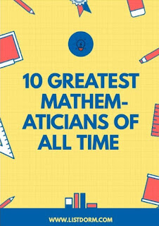 Greatest mathematicians
