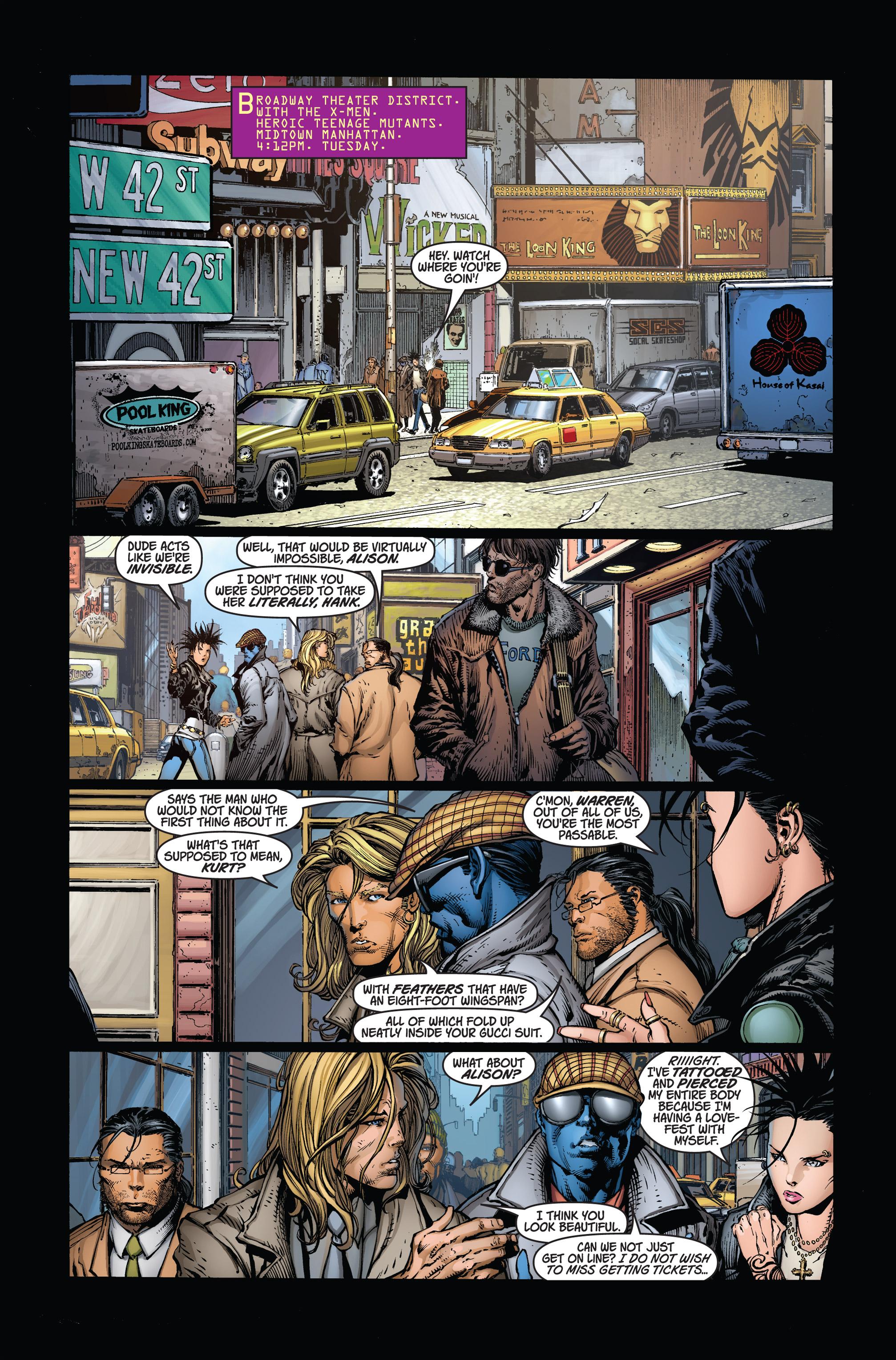 Read online Ultimatum comic -  Issue #1 - 6
