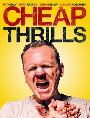 Poster Of Hollywood Film Cheap Thrills (2013) In 300MB Compressed Size PC Movie Free Download At worldfree4u.com