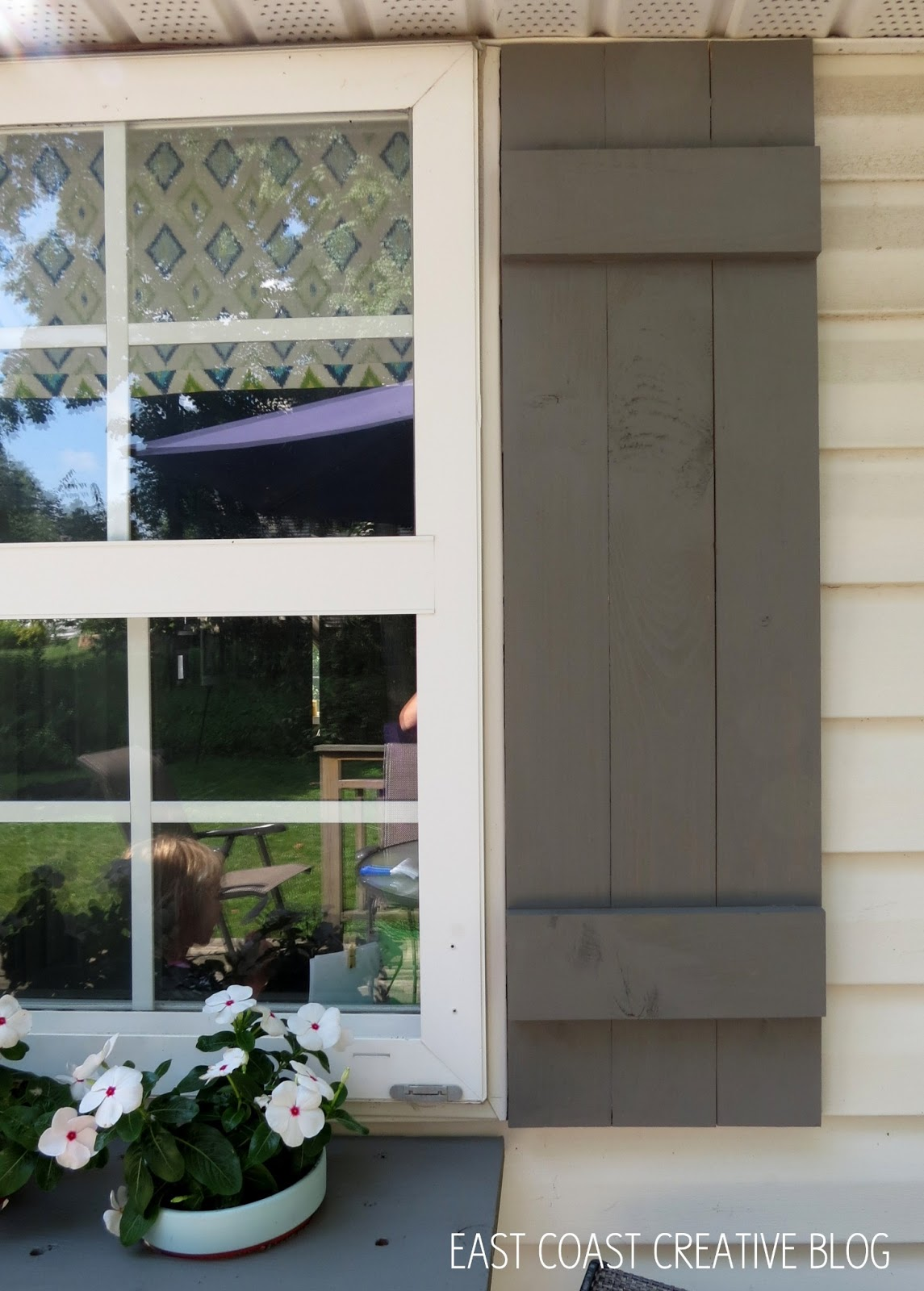 Diy Shutters And Window Box
