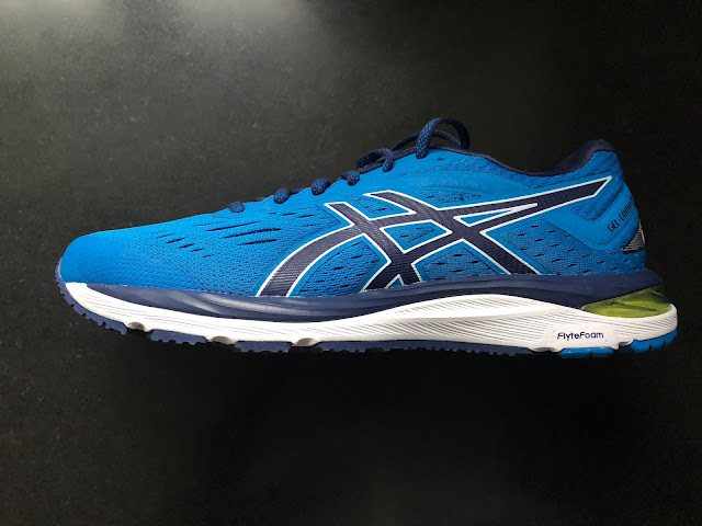 This is the case in the Asics Gel Cumulus 20. ASICS gave me a pair to test  at their new downtown Boston creative studio Boston Marathon weekend.