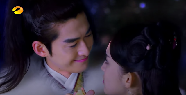 2016 c-drama Classic of Mountains and Seas starring Zhang Han and Gu Li Na Zha