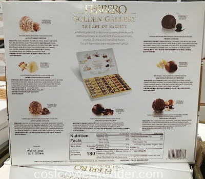 Costco 616808 - Ferrero Golden Gallery Premium Chocolates: simply delicious and satisfying