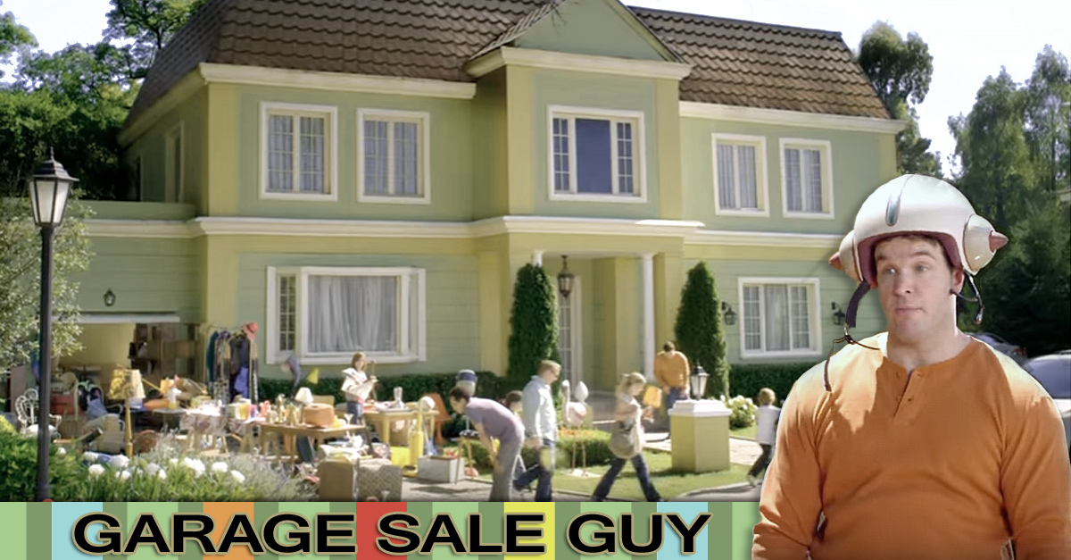 Garage Sale Guy - Funny Video